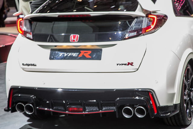 honda civic type r official pictures specs and performance 5