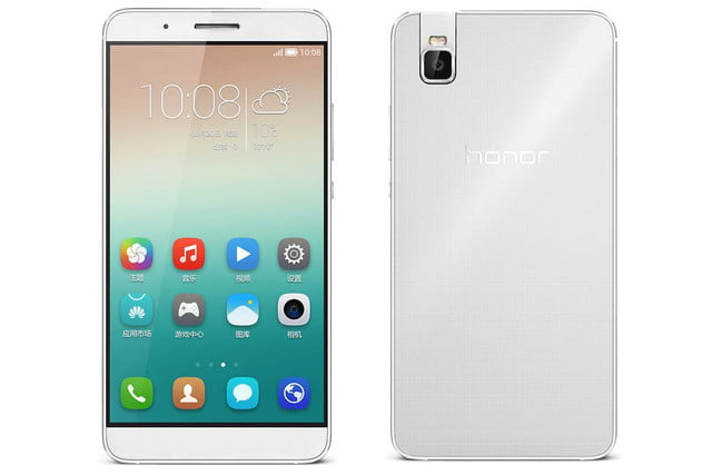 huawei honor 7i news front rear