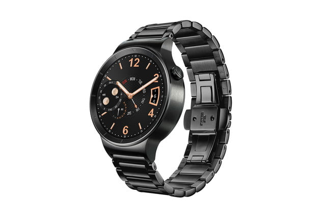 huawei watch news black left side