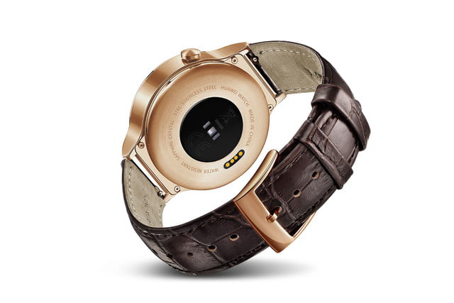 huawei watch news gold leather front back