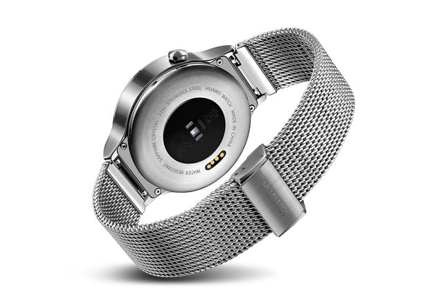 huawei watch news stainless mesh back