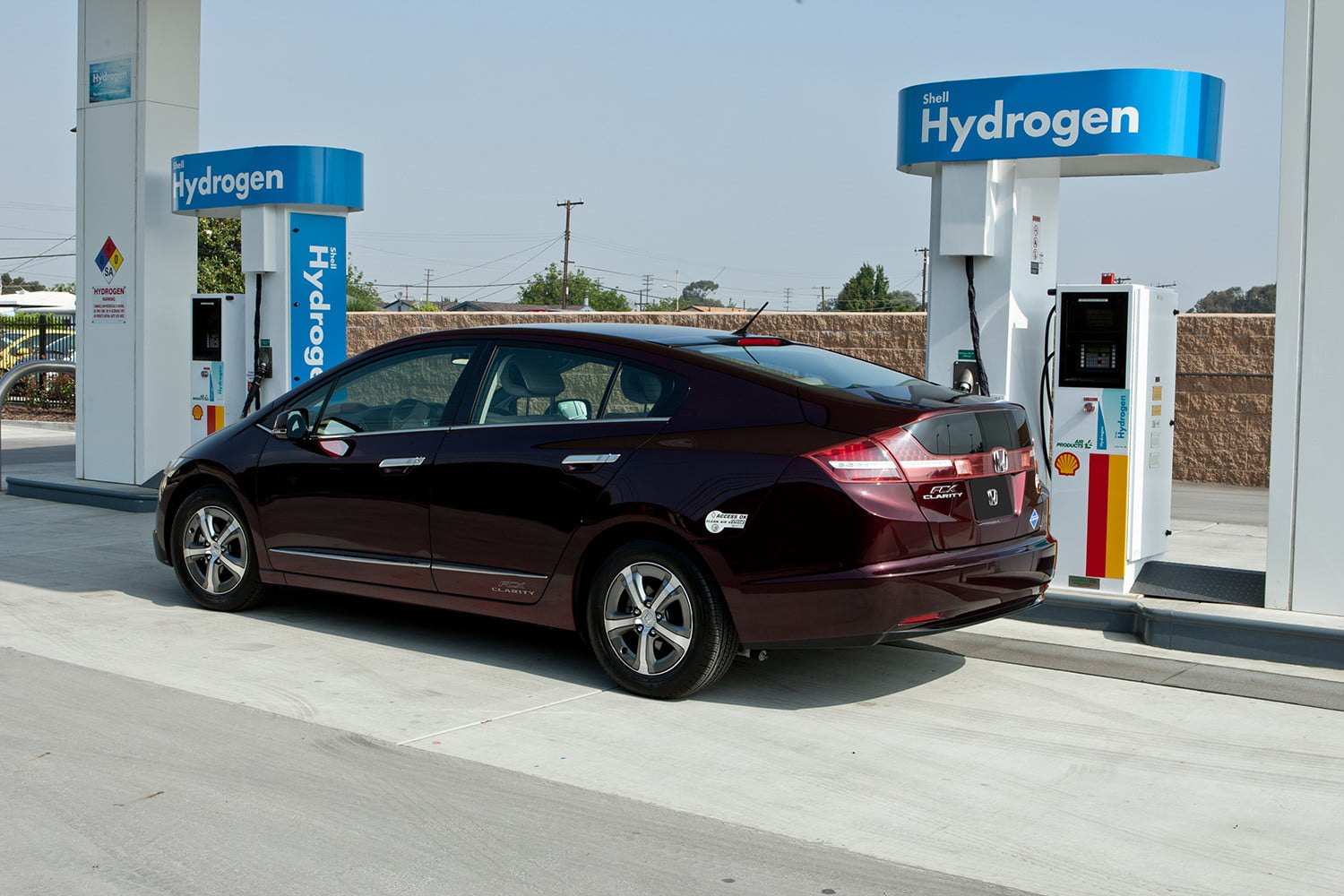 Hydrogen fuel cell vehicles are thriving in California