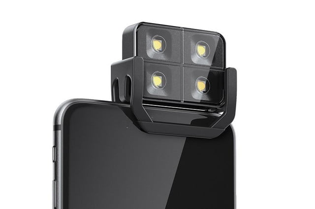 smartphone flash too harsh the iblazr 2 lets you adjust color temperature iphone