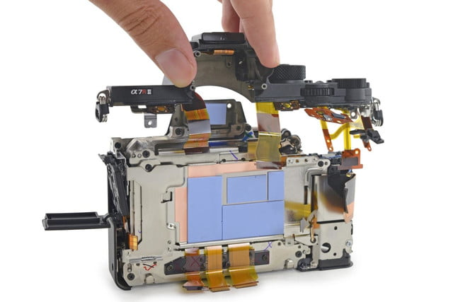 ifixit tears apart sony a7r ii camera calls it mighty feat of engineering a7rii teardown 1