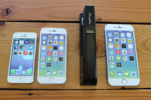 iphone 6 plus size comparison stapler