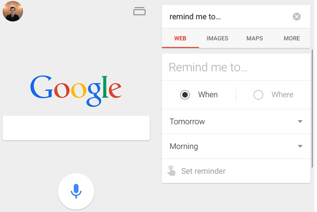 how to set reminders with google now iphone gallery 2