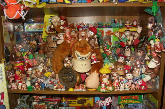 video game memorabilia popularity vgmmdonkeykong