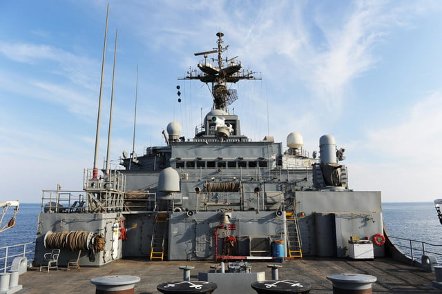 navy tests laser weapon system uss ponce laws6