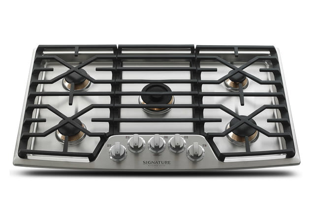 signature is a luxury smart appliance brand from lg kitchen suite gas range cooktop