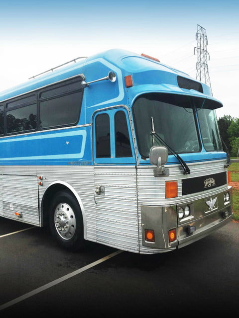 Loretta Lynn Eagle tour bus