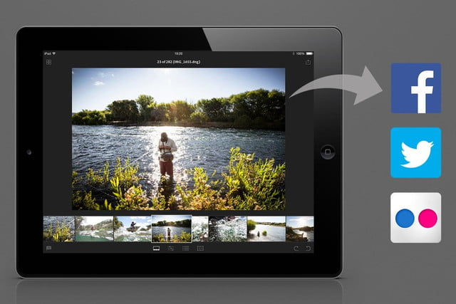 adobes lightroom lands on ipad subscription only lr mobile social