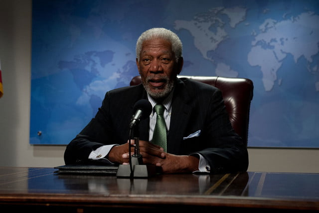 Morgan Freeman as President Tom Beck, Deep Impact (1998)