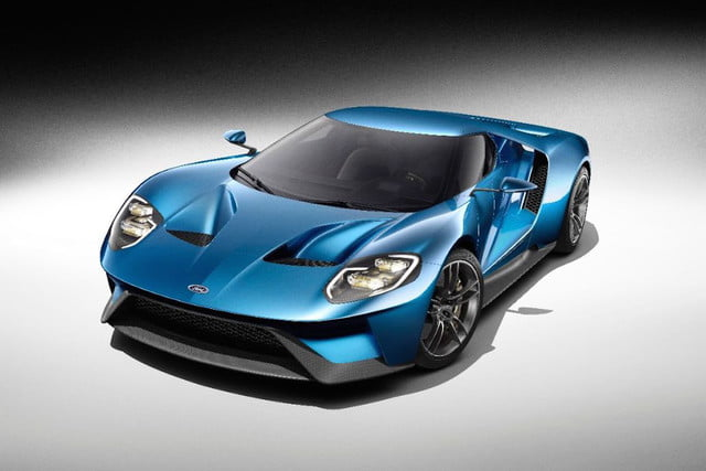 New Ford GT front angle