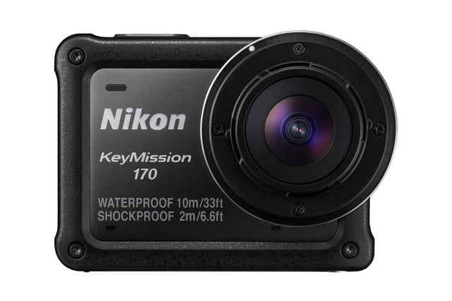 nikon keymission 170 80 action cam no lens protector