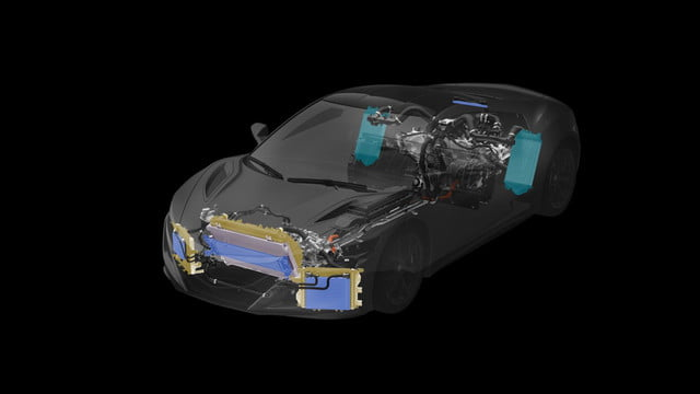 2016 Acura NSX Total Airflow Management, Powertrain & Heat Exchangers