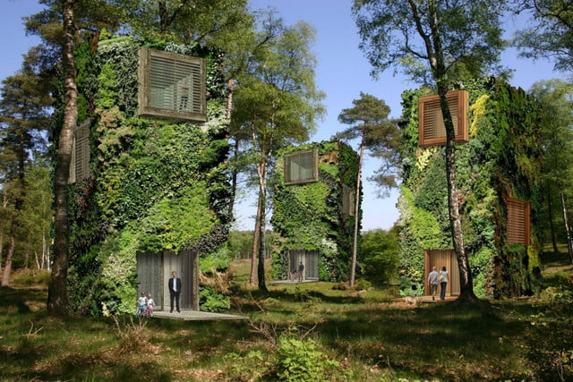 raimond de hullu oas1s community makes houses look like trees green building home 2