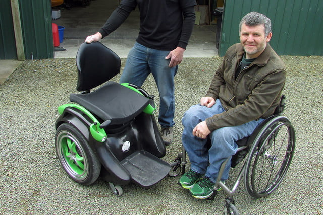 awesome tech you cant buy yet conductive legos ogo  hands free gyroscopically balanced wheelchair