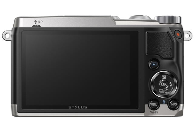 olympus stylus sh 1 is first compact camera with 5 axis stabilization slv back