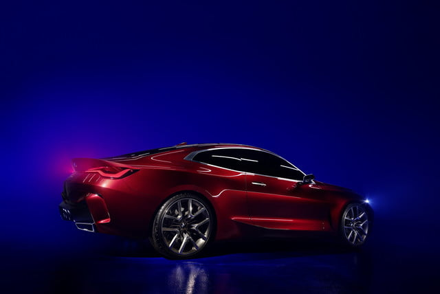 bmw concept 4 previews the 2021 series coupe at 2019 frankfurt auto show p90364636 highres