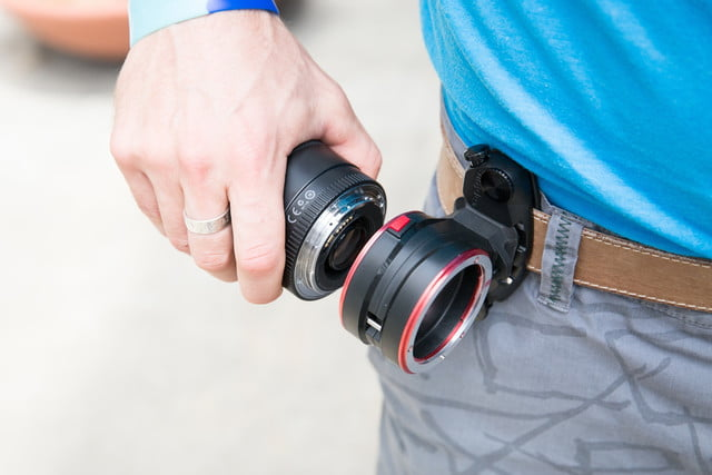 swapping lenses no longer a hassle with peak designs new accessory design capturelens 9