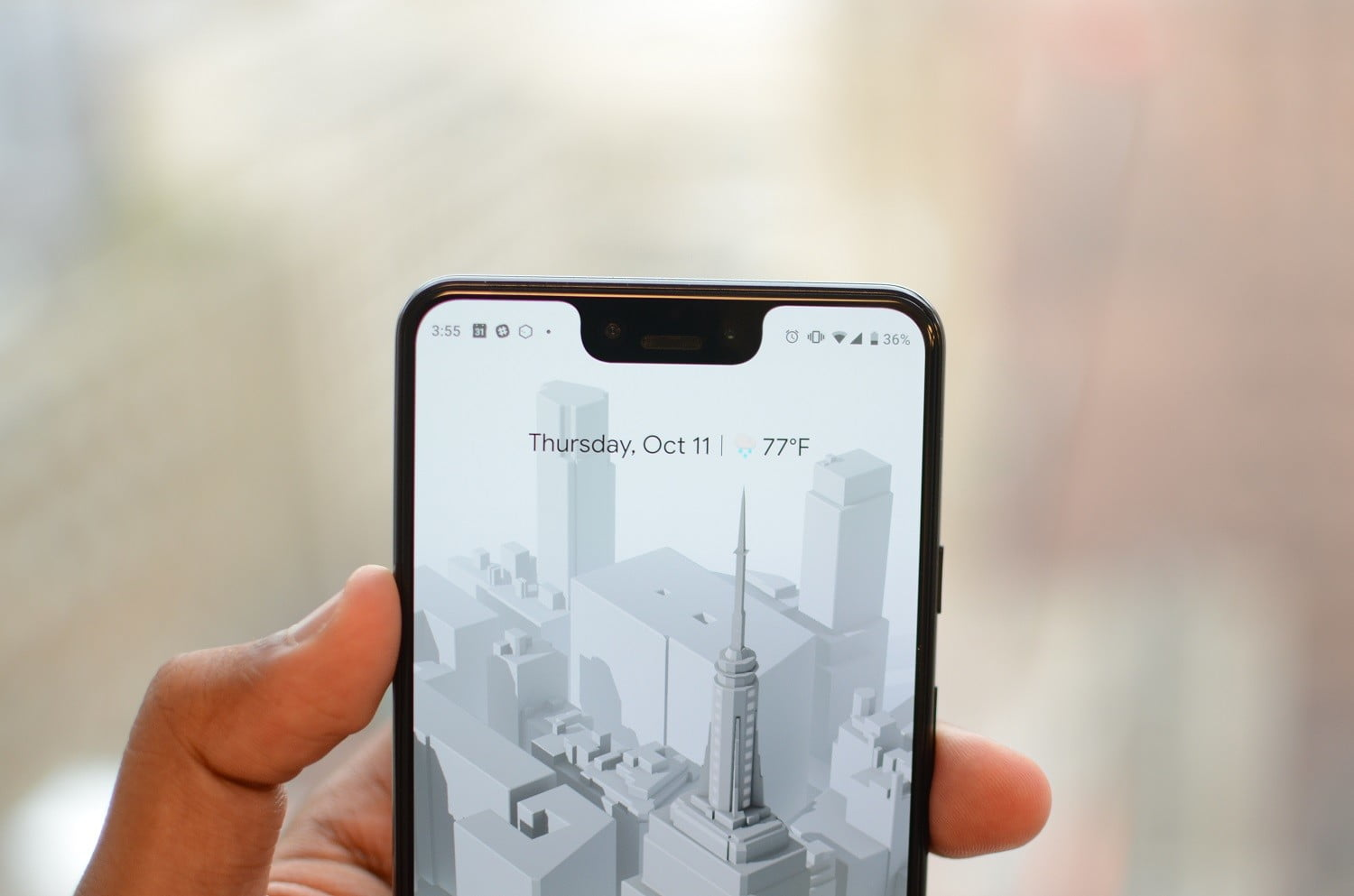 How To Hide The Notch On The Google Pixel 3 Xl Digital Trends