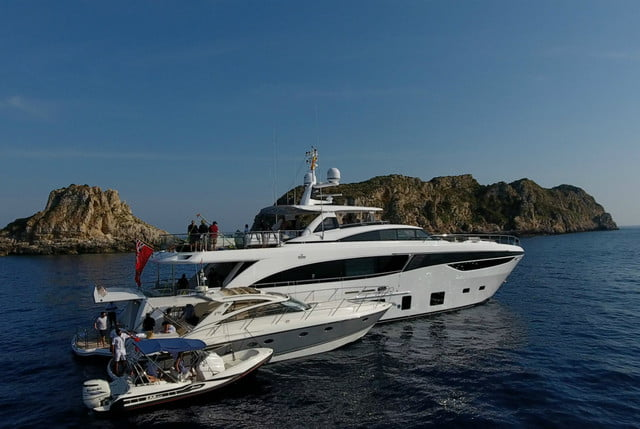 Princess Yachts 35M marketing film