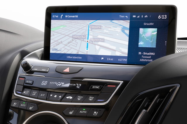acura true touchpad infotainment system review rdx19 p015a