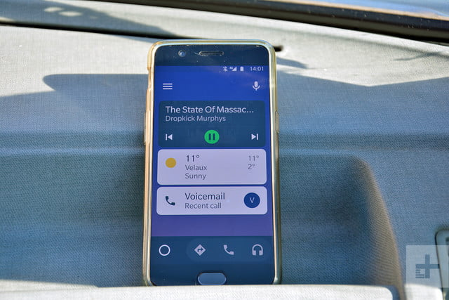 android auto november 2018 update focuses on messaging media rg 11 18 1