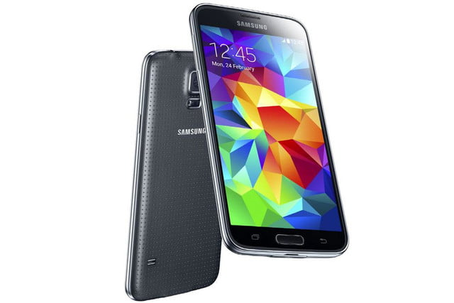 galaxy s5 makes debut samsung unpacked event mwc 2014 black 1
