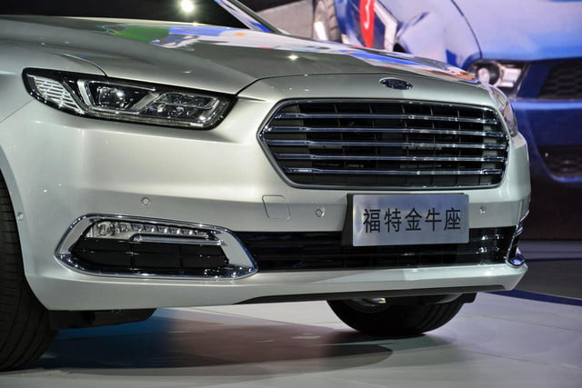 next ford taurus official pictures specs and performance shanghai 2