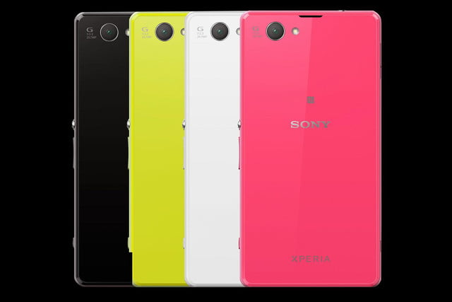 Sony Xperia Z1 Compact back range