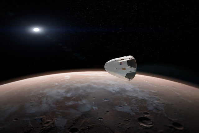 spacex announces mars mission for 2018 red dragon 003