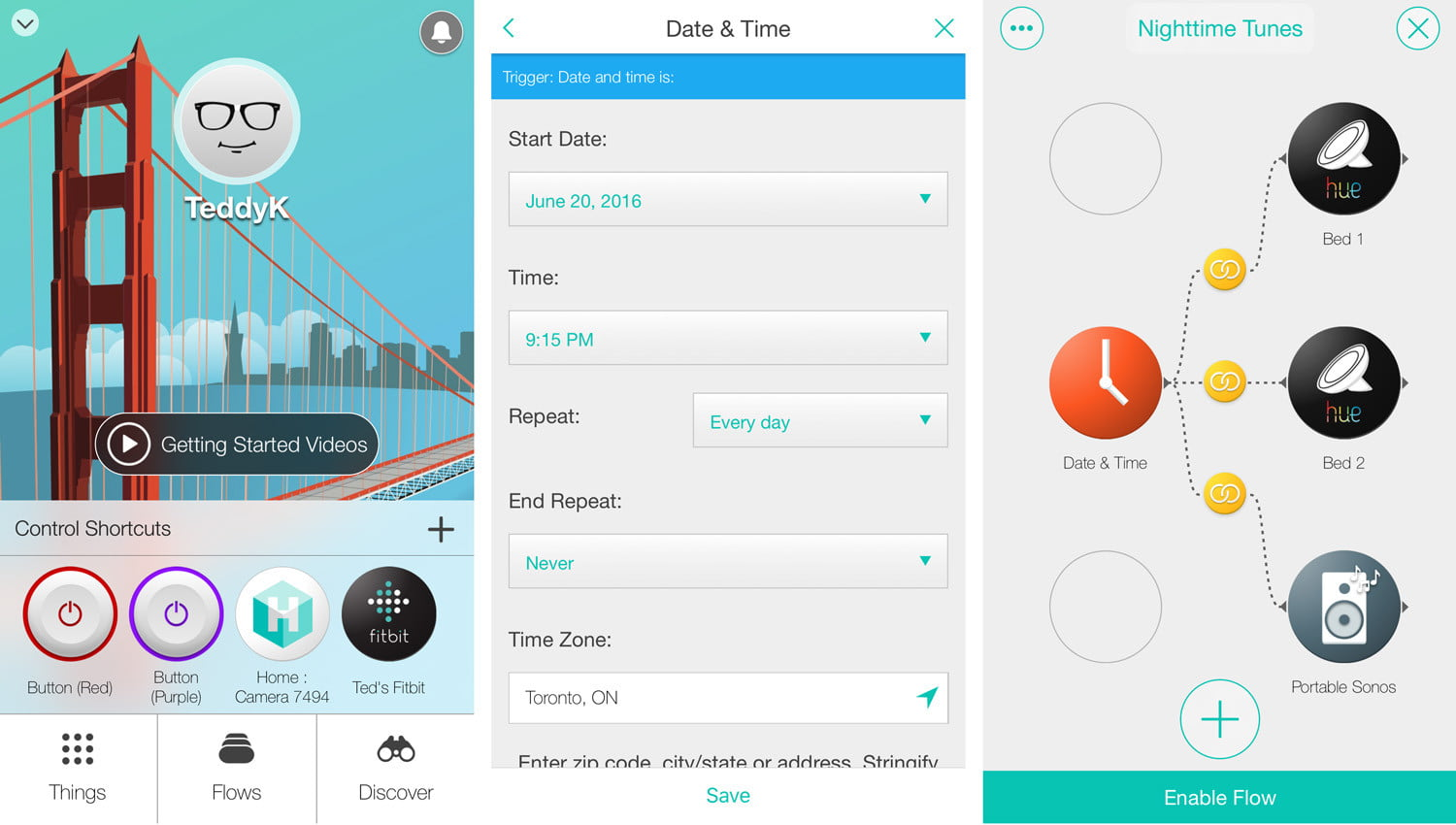 Stringify is an IFTTT rival that flows in multiple
