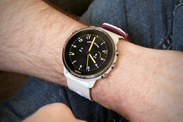 best wear os watches suunto 7 classic face