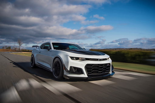 2019 Chevrolet Camaro ZL1 1LE Gets 10-Speed Automatic