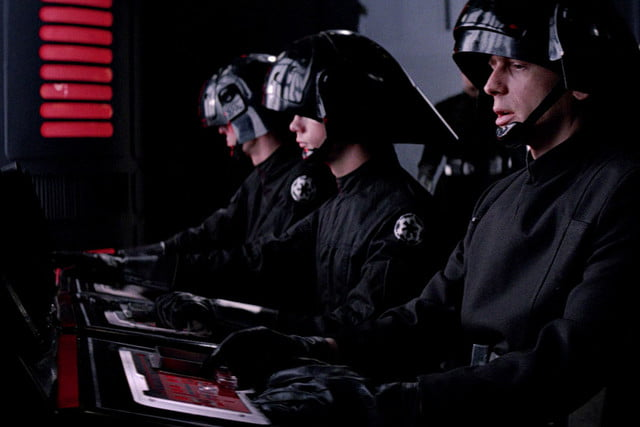 sci fi gadgets that are real the death star  s laser control panel is a video switchboard