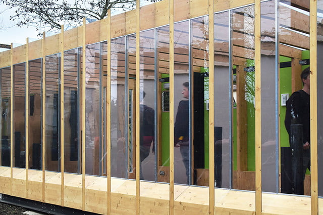 a hydraulic greenhouse rises off the ground during floods that grows legs  bat studio 4