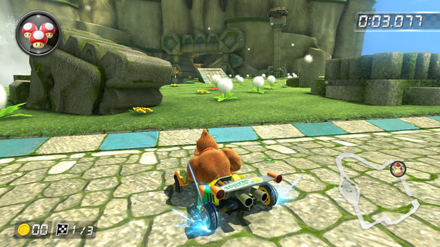 mario kart 8 shortcuts thwomp ruins 1