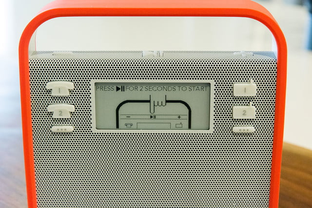 triby is the first non amazon alexa device radio screen1