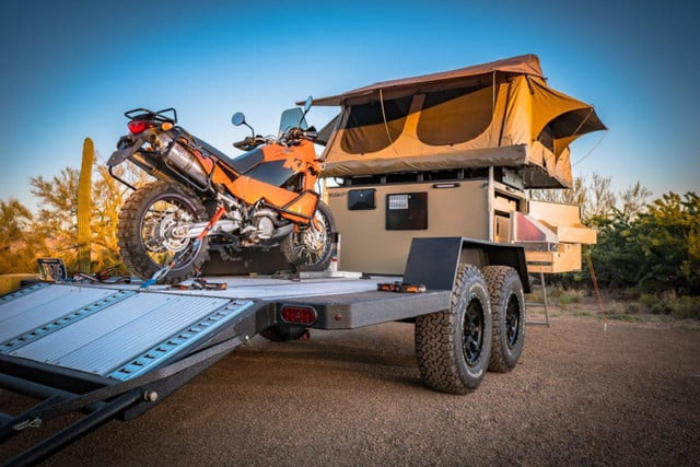 The Turtlebacker Trailer Lets You Go Camping with All of