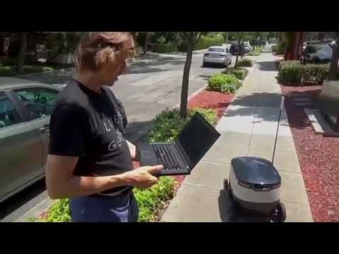 robot deliveries starship testing of autonomous delivery robots in silicon valley