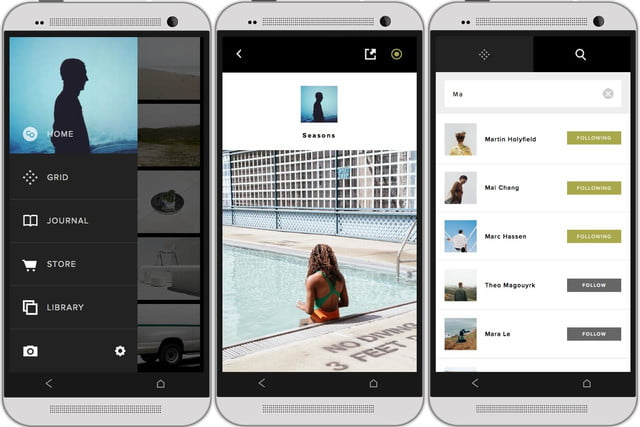 vsco cam photo app android adds discovery feature called grid 2
