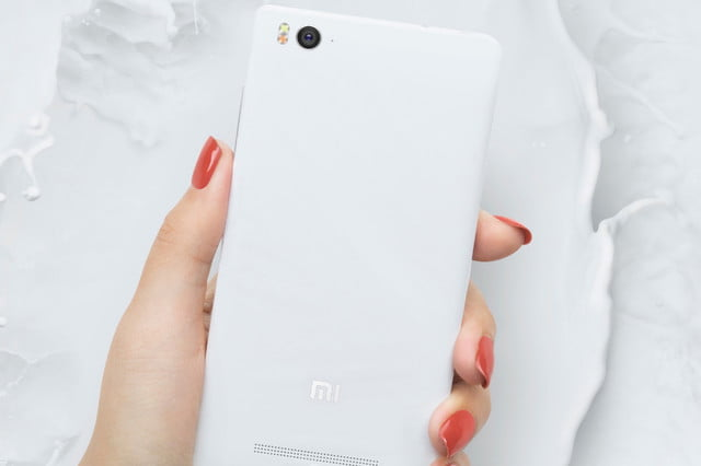 xiaomi mi 4c news rear white