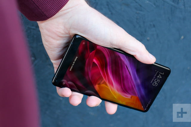 Xiaomi Mi Mix 2 Review in hand front