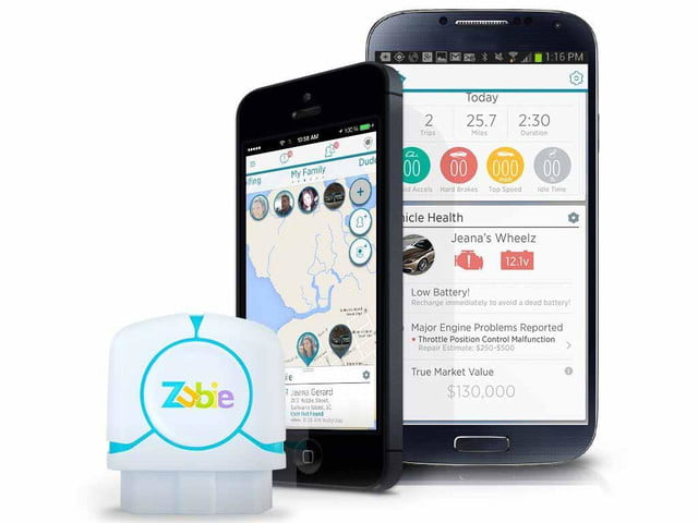 Zubie connected car