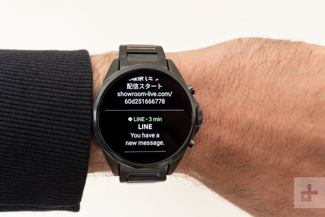 revision armani ax connected exchange smartwatch review 6