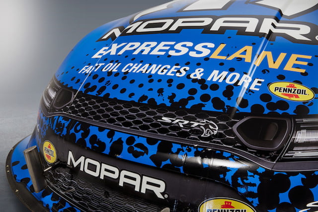 mopar dodge funny car nuevo modelo front end graphics on the new 2019 charger srt hellcat nhra recreate distinctive grille an
