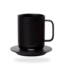 Ember 10 oz. Temperature Controlled Ceramic Mug (Black)