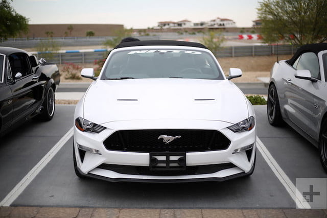 probando ford mustang thermal club est 16