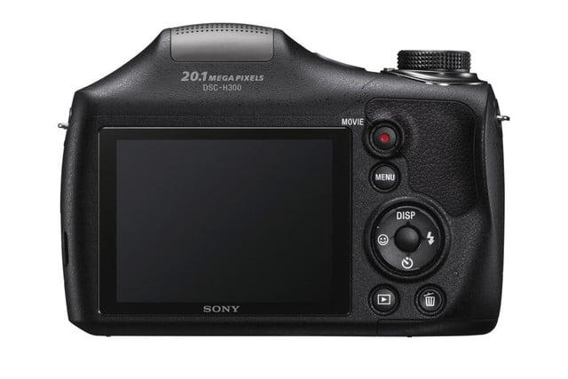 new sony cybershot cameras announced 2014 cp plus dsc h300 rear 1200